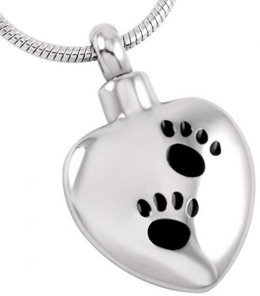 Heart with Two Paw Prints