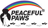 Peaceful Paws Memorial Logo